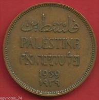 PALESTINE, PALESTINA, PALÄSTINA, 1 MIL 1939 NICE COLLECTABLE CONDITION ( VA ) , RARE - Israel
