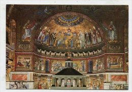 ITALY - AK 180044 Roma - Chiesa Di S. Maria In Trastevere - I Mosaici Dell'abside - Chiese