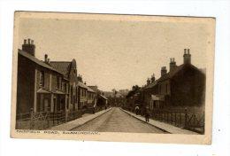 cp , ANGLETERRE , Fairfield road , SAXMUNDHAM , vierge , ed : H. G. Crisp