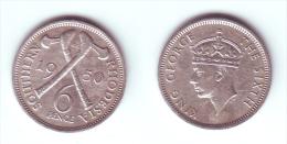 Southern Rhodesia 6 Pence 1950 - Rhodesië