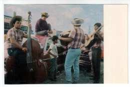 Folk Musicians Mariachi - Double Bass - Guitar - 1970 - Mexico - Unused - Mexiko