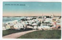 Hamilton From The Fort , Bermuda - No 18 - By Herrington & Scheihauer - Old Postcard - Bermuda - Unused - Bermudes