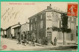 Chavanges - Aube -  Bureau De Poste  - Animée - Bar-sur-Aube