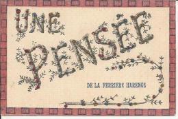 14/ CALVADOS... Une Pensée De LA FERRIERE HARENGS... Paillettes - Francia