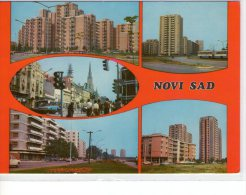 Yougoslavie..Novi Sad..animée..belle Multi-vues - Yougoslavie