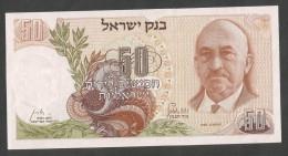 [NC] ISRAEL - BANK Of ISRAEL - 50 LIROT / LIRA (1968) - Israele