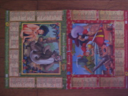 Almanach Du Facteur 2008, Calendrier, Walt Disney (Peter Pan / Le Livre De La Jungle) - Tamaño Grande : 2001-...