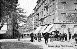 [DC7442] ANCONA - CORSO VITTORIO EMANUELE - Old Postcard - Ancona