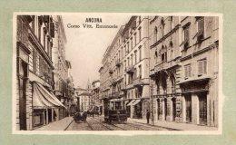 [DC7450] ANCONA - CORSO VITTORIO EMANUELE - Viaggiata 1912 - Old Postcard - Ancona