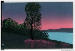 Handgemalte Postkarte - Künstlerkarten