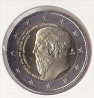 2 Euro Commémorative UNC Grèce 2013-2400eme Anniverssaire De L'Académie De Platon - Greece