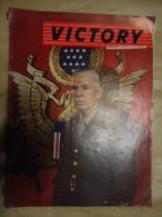 VICTORY     VICTOIRE     VOLUME 2 NUMERO 4    MARSHALL  Photos Ici:     Copyright 1944, Publié Par Les éditions  Crowe - Kranten