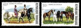 N° 813 Et N° 814 Du Togo - X X - ( E 1146 ) - Horses