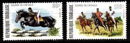 PA N° 231 Et N° 232 Du Togo - X X - ( E 1666 ) - Horses
