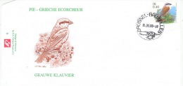 BELGIË- THEMA VOGELS BUZIN- DE GRAUWE KLAUWIER. - 1985-.. Oiseaux (Buzin)