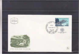 Israël - Lettre De 1967 - Poste Automobile - Oblitération Hare Yehuda - Israel