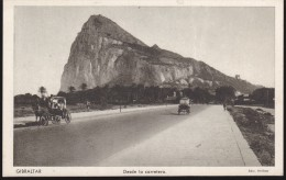 CPA - (Gibraltar) Desde La Carretera - Gibraltar