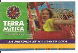 ENTRADA TERRA MITICA PARAMOUND PARK SPAIN - Espagne