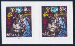 IRELAND/Irland/Eire 2013 Christmas Self/Adhesive Pair** - 1949-... Repubblica D'Irlanda