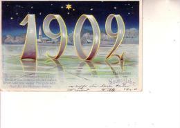 Germania  - Postkarte --fröhliches Neues Jahr--  Buon Anno (1902) - New Year