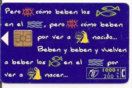 TARJETA TELEFONICA VILLANCICO NAVIDAD - Espagne
