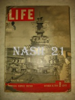 Revue ´ LIFE ´ Du 30 Octobre 1944 - 51 Pages - - Sociology/ Anthropology