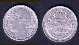 50 CENTIMES MORLON 1947 B  TTB - G. 50 Centimes