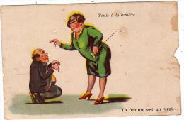 Tenir à La Lumière/WSSB/1212/Carte à Système/Réf:2060 - Humour