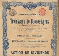 6 X Tramways De Buenos Ayres - Afrique