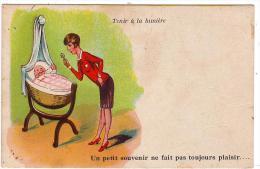 Tenir à La Lumière/WSSB/1211/Carte à Système/Un Petit Souvenir....../Réf:2063 - Humour