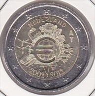 2 Euro Commémorative UNC Pays-bas 10 Ans De L'Euro - Nederland
