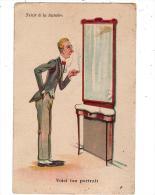 Tenir à La Lumière/WSSB/964/carte à Système/Voici Ton Portrait/Réf:2064 - Humour