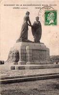 Cpa 1924 Monument De La Reconnaissance Belge (14/18) Ancien Emplacement LE HAVRE (20.77) - Le Havre
