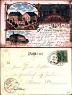 2887)cartolina Grus Aus Der Bretmùhle-ebersdorf-frankeberg-viaggiata - Frankenberg