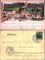 533)cartolina Grus Ad Gasthaus Z. Schtzenstein.-elterlein-viaggiata - Elterlein