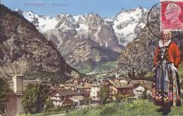 Italie - Val D'Aosta - Courmayeur - Ville Folklore - Postal Mark - Aosta