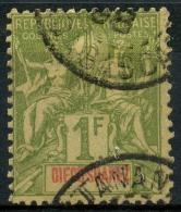 Diégo-Suarez (1893) N 50 (o) - Used Stamps