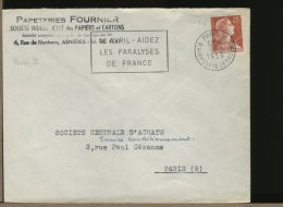 FRANCE  -  12 Avril - Aidez Les Paralyses De France - Handicap