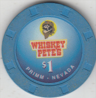 USA - Whiskey Petes Casino, Chip $1 - Casino