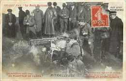 Militaires Militaria - Ref D136- Aux Grandes Manoeuvres -mitrailleuse-mitrailleurs -theme Mitrailleuses - - Ausrüstung