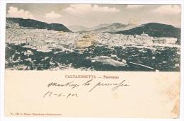 B2248 - Caltanissetta - Panorama - Caltanissetta