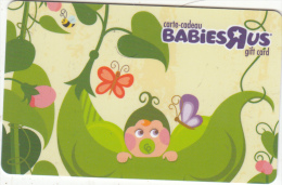 CANADA - BabiesRus Magnetic Gift Card, Unused - Gift Cards