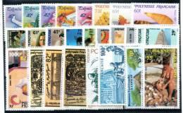 POLYNESIE : Année Complète 1989 ** - Années Complètes