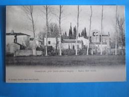 17 : GRANDJEAN : EGLISE XII Iéme Siécle :  C.P.A.. : Carte En Trés Bon état , - Churches & Cathedrals