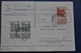 DEUTSCHE BUNDESPOST BERLIN LETTER 1970 MICHEL 243 - [5] Berlijn