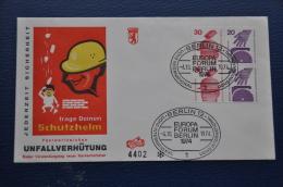 DEUTSCHE BUNDESPOST BERLIN LETTER 1974 MICHEL W59 W60 - Brieven En Documenten