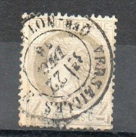 FRANCE   4 C    Année 1872     Y&T: 52    Cérès  IIIe République  Timbre Aminci    (oblitéré) - 1871-1875 Ceres
