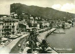 Rapallo - Passeggiata A Mare - 580 - Formato Grande Viaggiata - S - Genova