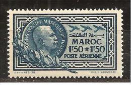 Morocco1935: Yvert PA40 Mnh** - Marruecos (1891-1956)