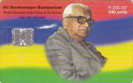 Mauritius, MAU-82, Sir Seewoosagur Ramgoolam, 2 Scans.   Please Read